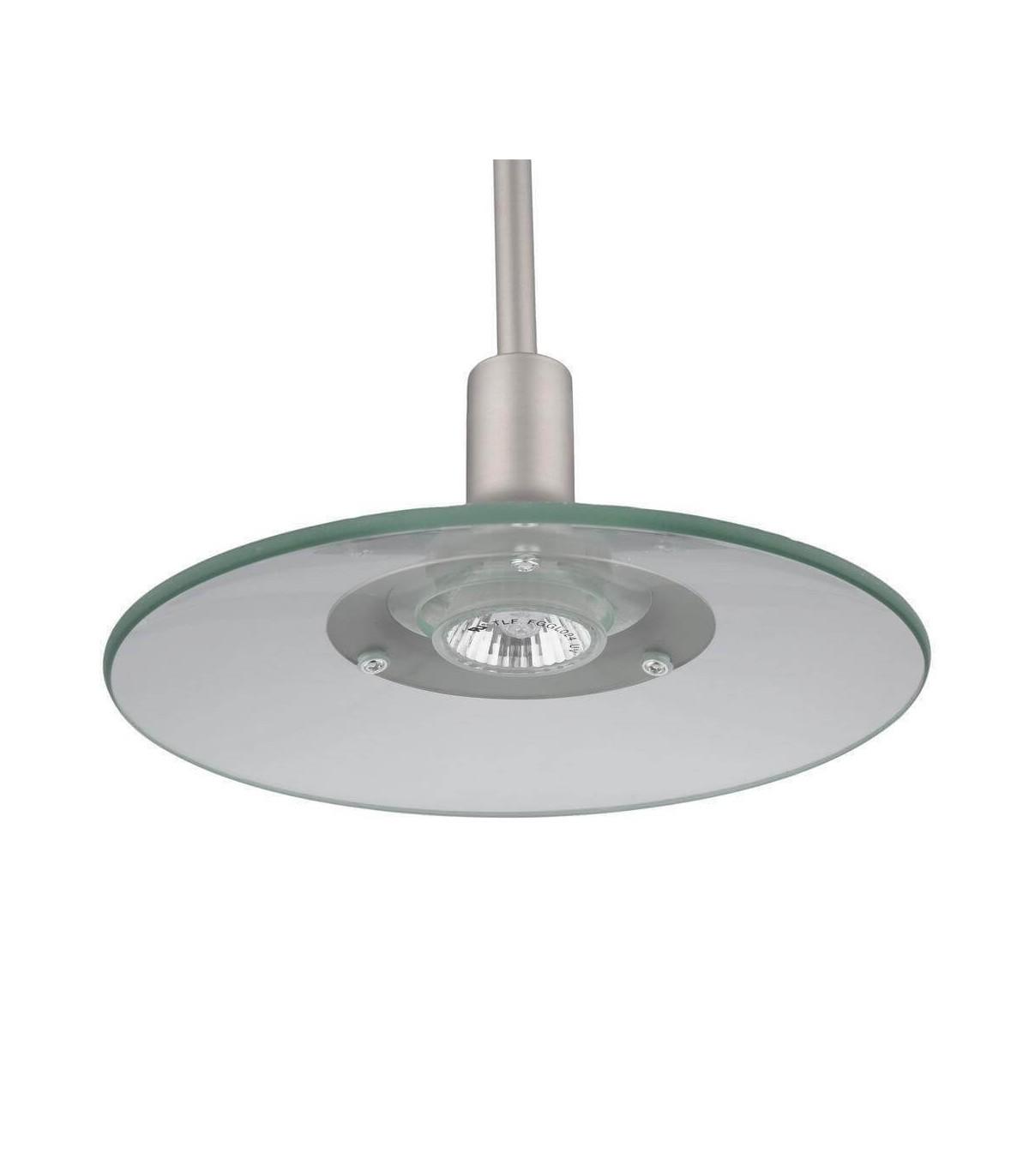 Brushed Steel Hanging Pendant Light