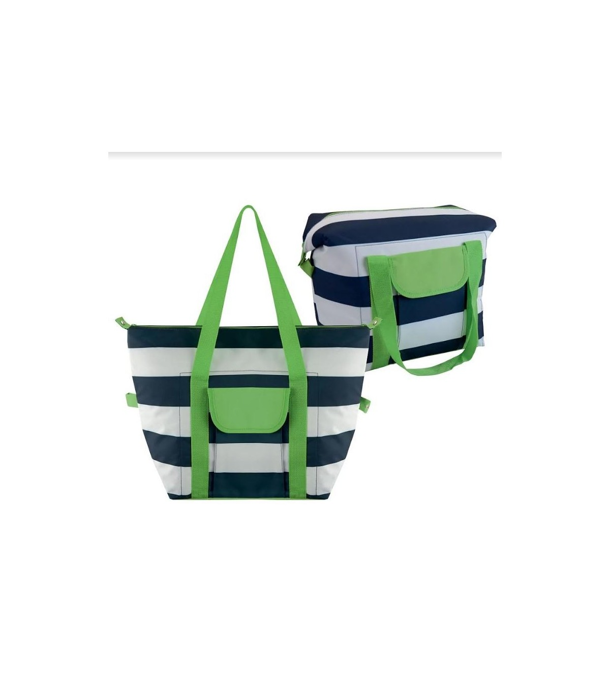 Stripe Insulated Cooler Bag Coolerbag Striped
