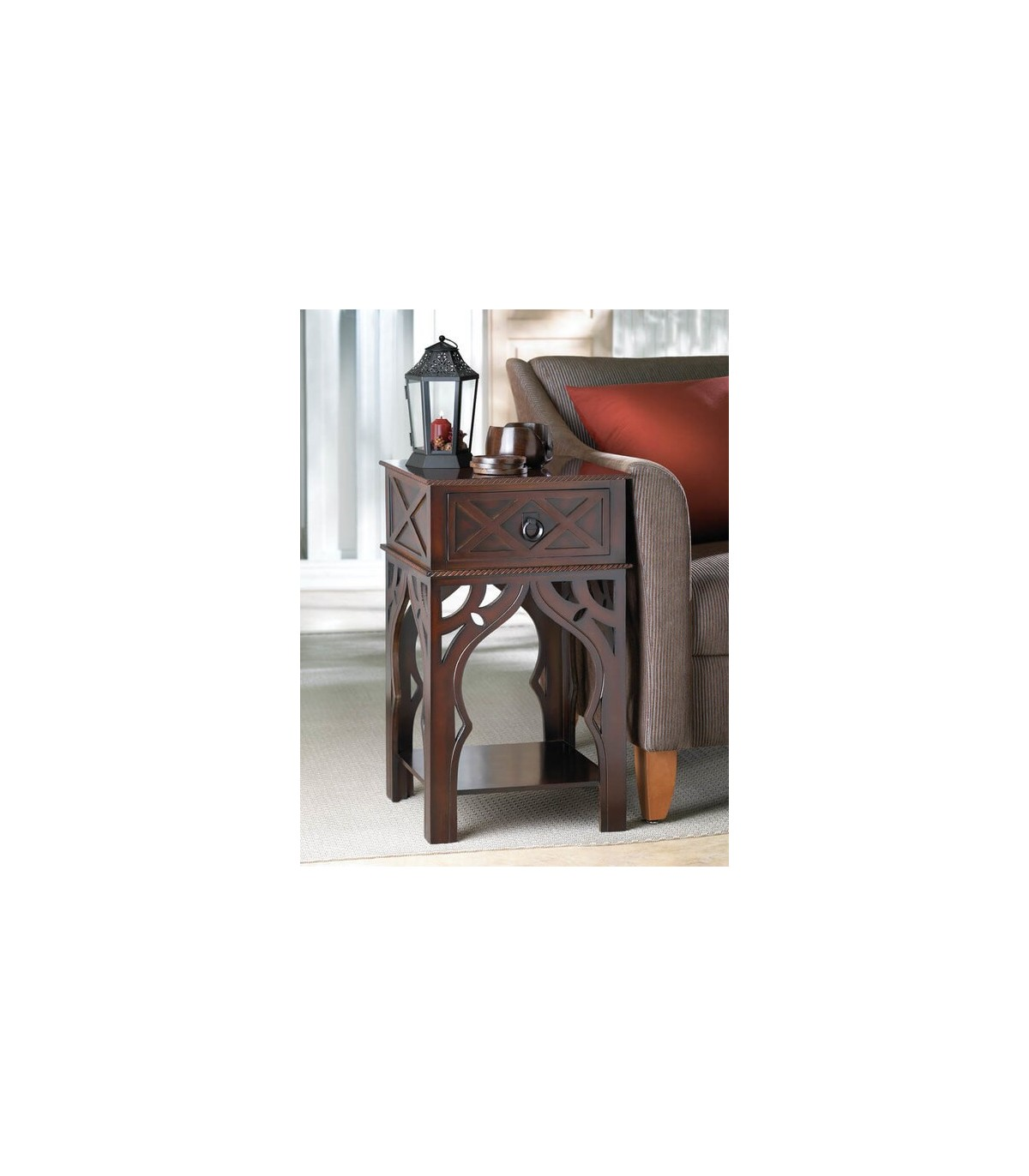 Exotic Moroccan Style Side Table