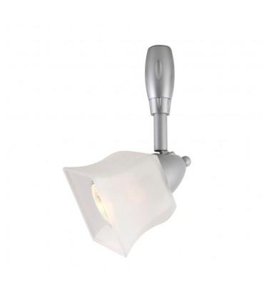 Silver Hampton Bay Flexible Track Light Head