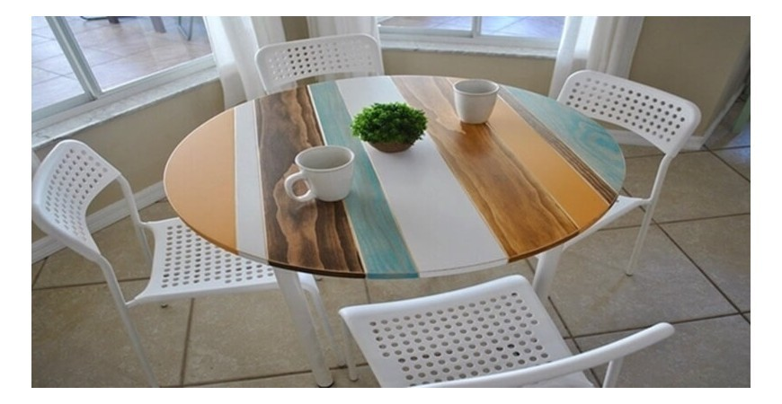 A Breakfast Table With Elegance Color and Style